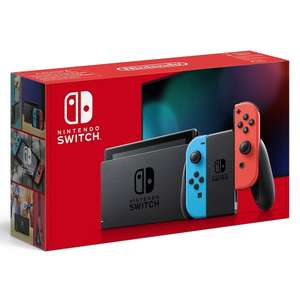 Nintendo Switch Neon Red/Blue for £284.98 delivered @ Smyths
