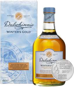Dalwhinnie Winter's Gold Single Malt Scotch Whisky 70cl with Gift Box £26 at Amazon
