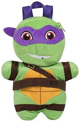 Nickelodeon Mutant Ninja Turtle Kids' Plush Backpack £3.50 delivered @ jazzrocksambauk ebay