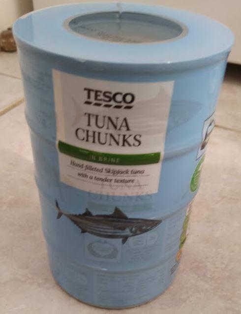 Tuna fish 4pk x145g £0.79 @ Tesco Yeading
