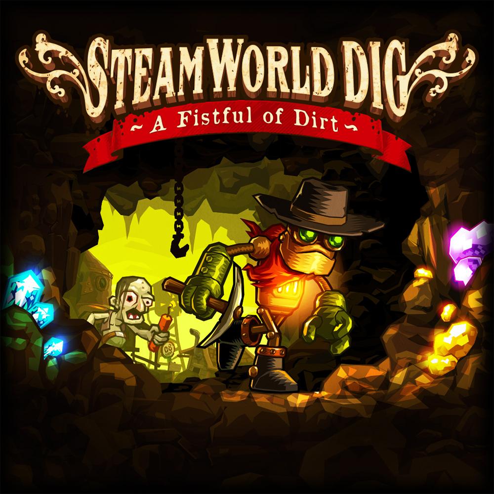 [Nintendo Switch] SteamWorld Dig - £2.24 (£1.51 SA) - Nintendo eShop (SteamWorld Dig 2 - £5.99 / Heist Ultimate Edition - £3.74)