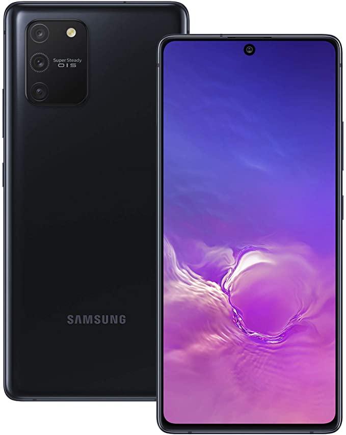 Samsung Galaxy S10 Lite Hybrid-SIM 128 GB -Prism black £465.58 at Amazon