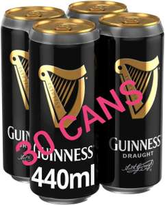 30 x 440ml Cans Guinness Draft £12 (FREE delivery with £40 shop or £3.99 under £40) @ AmazonNow / Morrisons (stock is region specific)