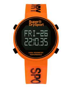 Superdry Unisex Orange Digi Pedometer - £32.50 @ Superdry / eBay