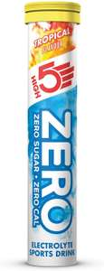 HIGH5 ZERO Electrolyte Hydration Tablets (Why is this cold?) Added Vitamin C - (Tropical, 20 Tab Tube) £1.49 @ Amazon
