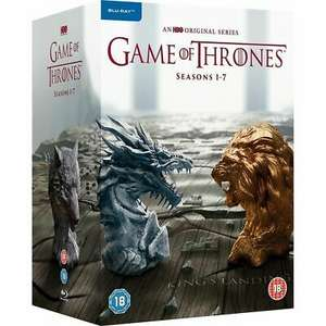 Game of Thrones The Complete Seasons 1-7 BlurayBox Set - USED Very Good Condition - £39.99 @ keithk871 / eBay