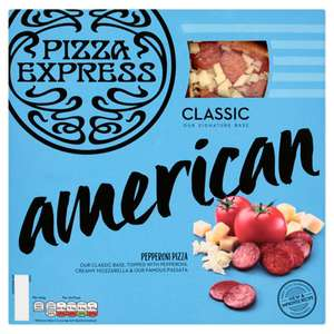 Two Pizza Express Pizzas, Side and a 4 Pack of Coca-Cola or Budweiser for £7 @ Asda