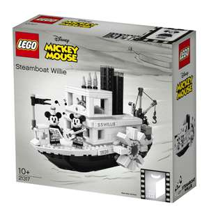 LEGO Ideas 21317 Steamboat Willie £72 @ Hamleys with code
