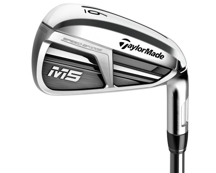 TaylorMade M5 Golf Irons | Steel (7 Irons) 4 - PW + free Titleist Pro V1 Golf Balls | Sleeve £499 @ Clarks Golf shops
