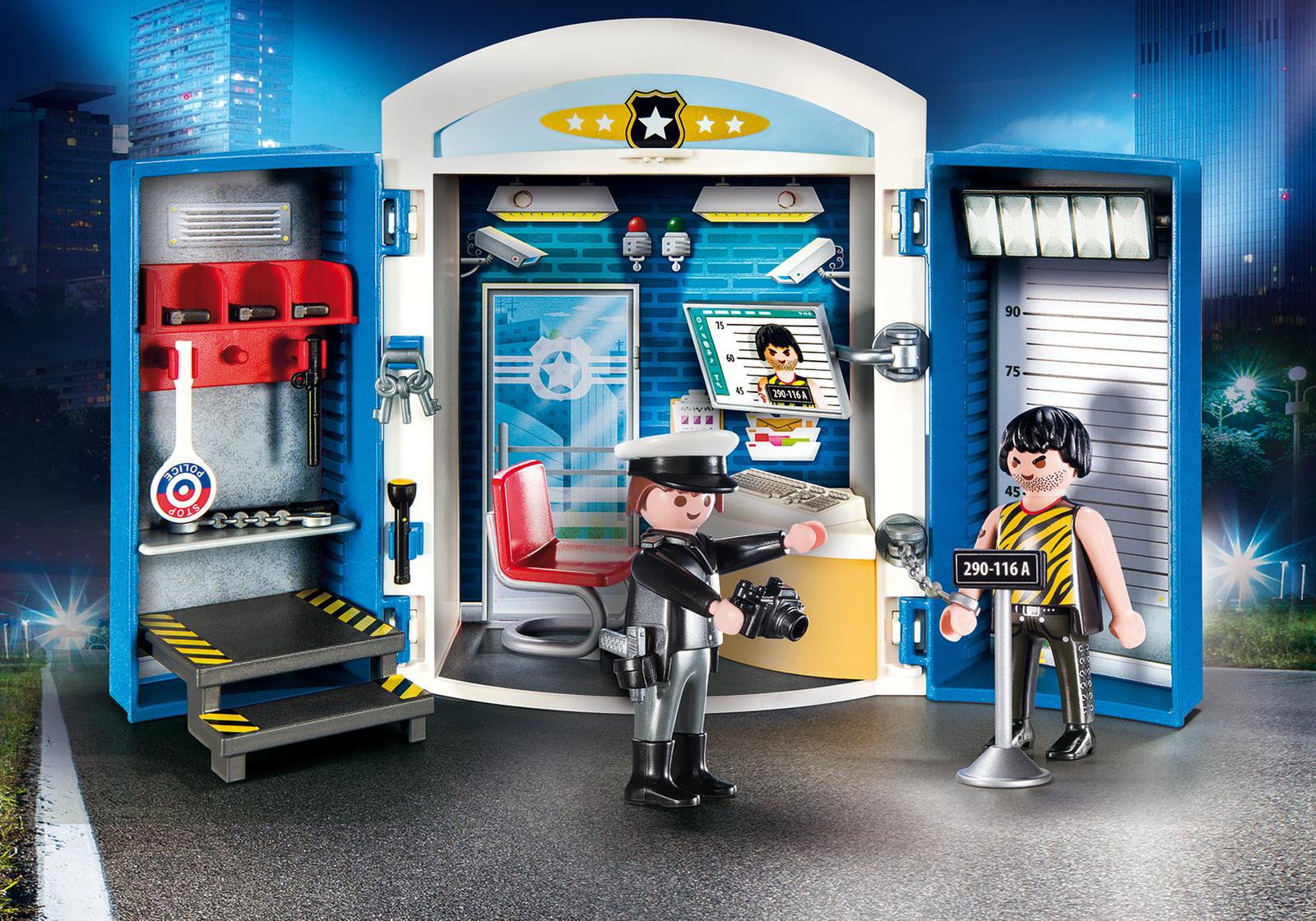 Playmobil 9111 Police Station Play Box (Playsets) £15.99 ebay / playmobiluk