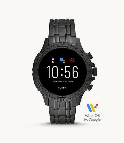 Gen 5 Smartwatch Garrett HR Black Stainless Steel £189 at Fossil