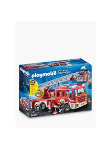 Playmobil City Action 9463 Fire Ladder Unit - £33.48 Delivered @ John Lewis & Partners