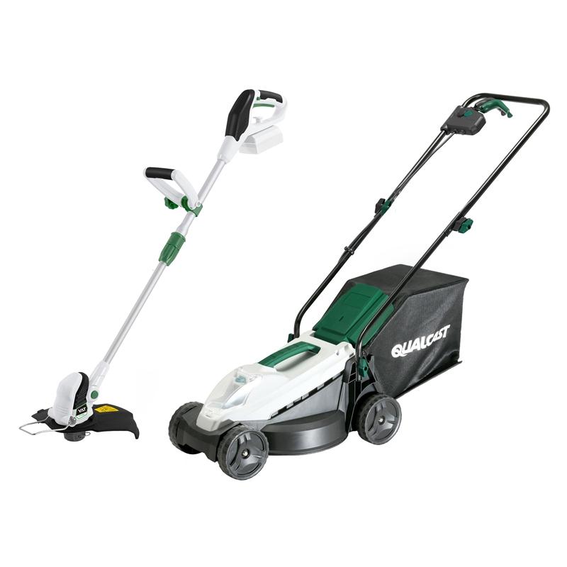 Qualcast Cordless Lawn Mower & Grass Trimmer Kit 20V £99.03 @ Homebase - free store pickup