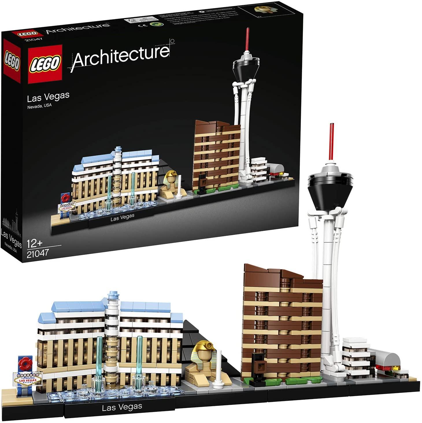 LEGO Architecture Las Vegas Building Set 21047 £31.50 delivered, using code @ Hamleys