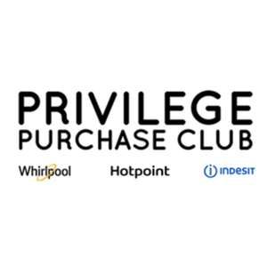20% off Home Appliances including Hotpoint, Whilrpool, Indesit at Privilege Purchase Club