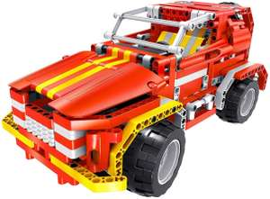 Tekno Toys Active Bricks RC 2in 1Sports Utility Vehicle and Roadster, red £15.63 (Prime) / £20.12(non Prime) at Amazon