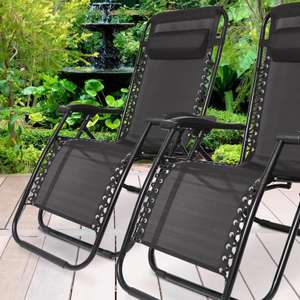 Gravity chair 2 pack - £53.99 delivered with code @ Groupon