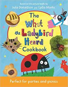 What the ladybird heard cookbook - £6.49 (Prime) £9.48 (Non Prime) @ Amazon