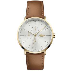 LACOSTE Men's Brown Leather Moon Watch 2010977 £67.50 using code delivered @ Hillier Jewellers