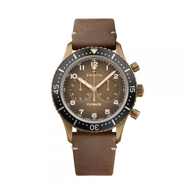 Zenith Pilot Cronometro Tipo Cp-2 Flyback Bronze Watch £3840 @ Burrells