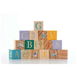 Rainbow Designs Peter Rabbit Wooden ABC Picture Blocks £14.56 + Free Delivery From OnBuy