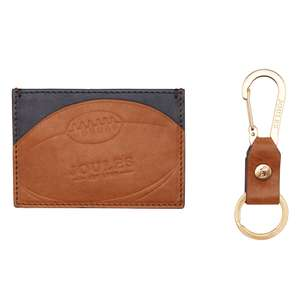 Joules Rugby Leather Card Holder and Keyring Set £7.95 delivered @ Joules eBay