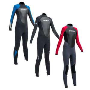 Gul Response Junior (Age 1-2) 3/2mm Fl Wetsuit - Black/blue £4.99 + £1.99 delivery (free with £15 spend) @ escape-watersports