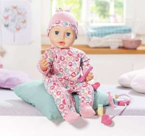Baby Annabell Milly Feels Better doll - £20 click & collect @ Argos