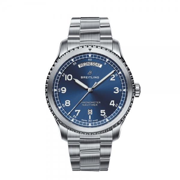 Breitling Aviator 8 Automatic Day & Date 41 Watch £2450 @ Burrells