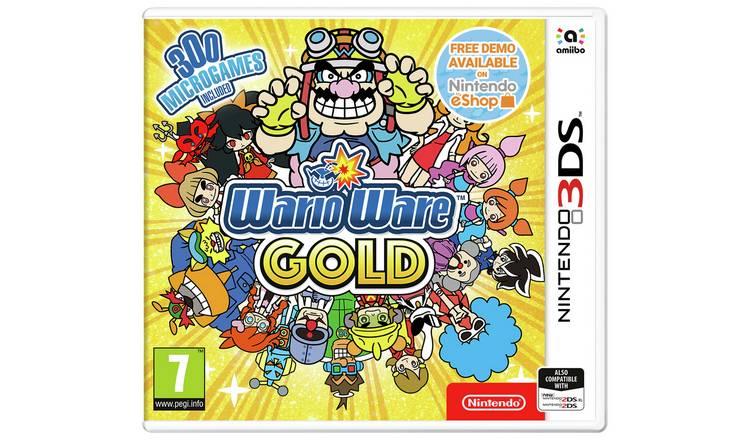 WarioWare Gold Nintendo 3DS £3.99 + £3.95 Delivery @ Argos (Selected Stores)