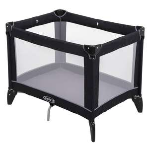 Graco Compact Travel Cot (Birth to 3 Years Approx.) Includes Carry Bag, Black/Grey - £29.99 delivered @ Smyths