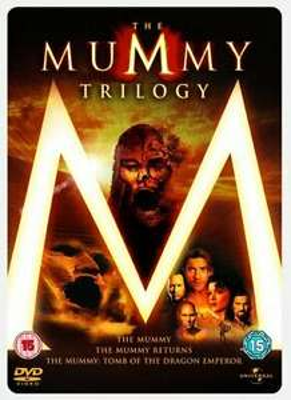 The Mummy 1, 2 & 3 Steelbook Box Set [DVD] - USED Very Good - £3.49 @ worldofbooks08 / eBay