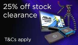 WEX Stock Clearance sale - 25% off brands like Sony, Canon, Fuji, Manfrotto etc