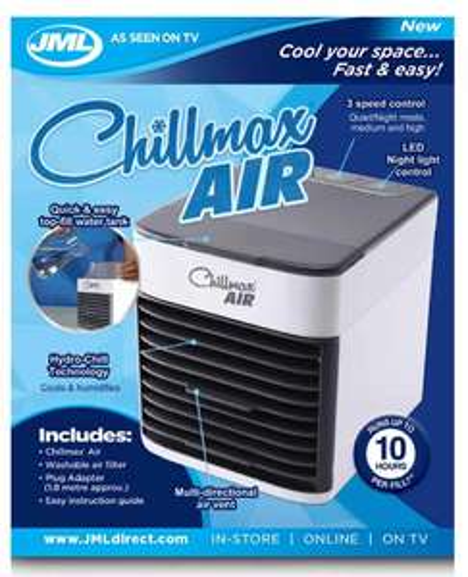 JML Chillmax Air - £19.99 (+£5 Postage) @ Wilko