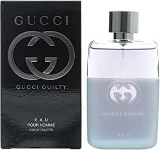 Gucci Guilty Eau Pour Homme Eau de Toilette Spray For Him, 50 ml - £25 @ Amazon