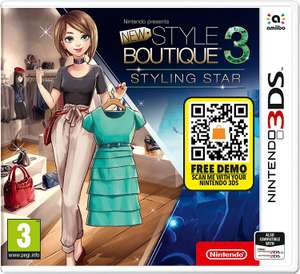 Nintendo 3DS Presents New Style Boutique 3 - Styling Star - £11.99 (Prime) / £14.98 (Non Prime) delivered @ Amazon