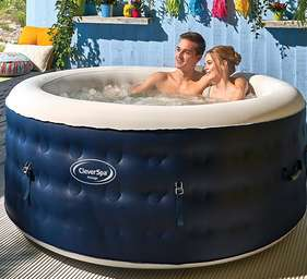 Cleverspa Malaga 4 person inflatable hot tub - £499 (+£9.95 Postage) @ The Range