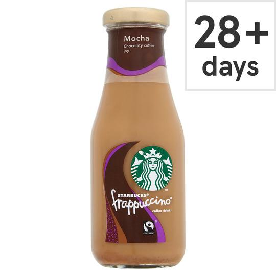 Starbucks Frappuccino Mocha/Caramel (250ml) - £1 @ Tesco