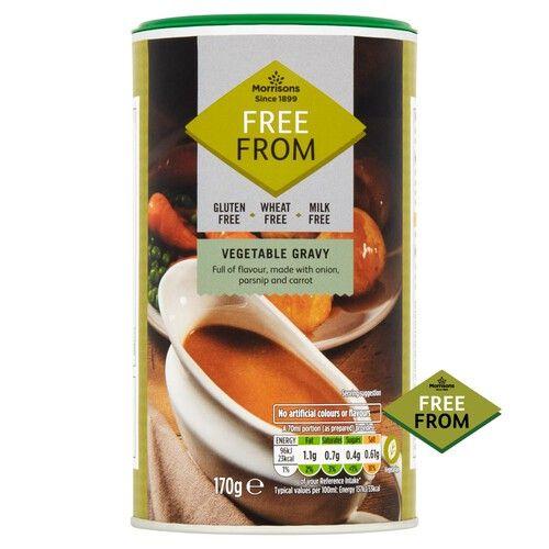 Morrisons vegetable free from gravy 60p