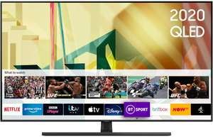 """85"""" Samsung 2020 85"""" Q70T QLED 4K Quantum HDR Smart TV with Tizen OS - £3,119 after £380 voucher - Sold by Reliant Direct via Amazon"""