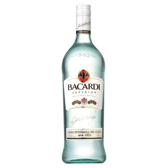 Barcardi Carta Blanca Rum 1 litre £17 @ Tesco