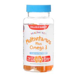 Kids multi vitamins with omega 3 - £2.99 @ Holland and Barrett (+ £2.99 delivery)