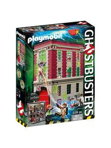 Playmobil Ghostbusters Firehouse - £40 @ John Lewis & Partners (£3.50 Delivery)