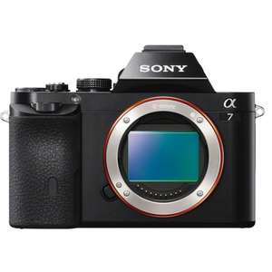 Sony A7 Mirrorless Camera Body Only £549.50 delivered @ CameraWorldCameraWorld