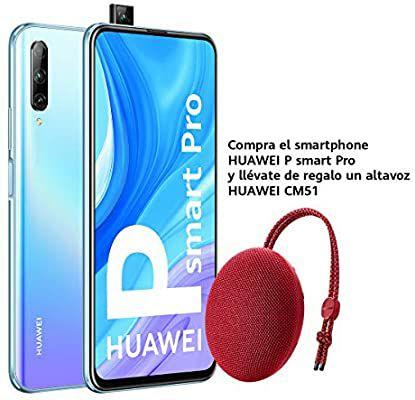 Huawei P Smart Pro Smartphone Breathing Crystal 6GB RAM + 128GB + Free Bluetooth Speaker £209 / £200 With fee free card @ Amazon Spain