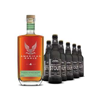 American Eagle 4 Year Old and 12x 500ml of Mud City Stout - £30.50 delivered @ Sadler's Ales