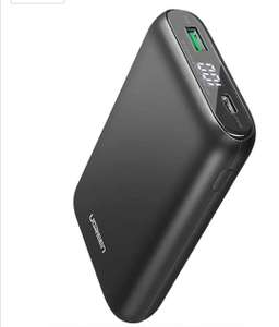 UGREEN 10000mAh PD Power Bank, 18W USB Type C with QC3 for £10.18 - Sold by UGREEN GROUP LIMITED and Fulfilled by Amazon (+£4.49 non-prime)