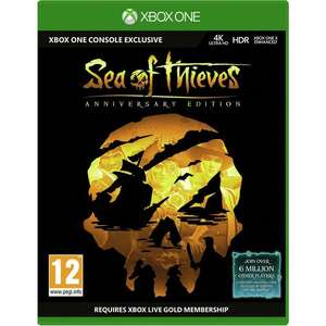 Sea of Thieves Anniversary Edition Xbox One Disc £10.99 (free click and collect or £3.95 del) @ Argos