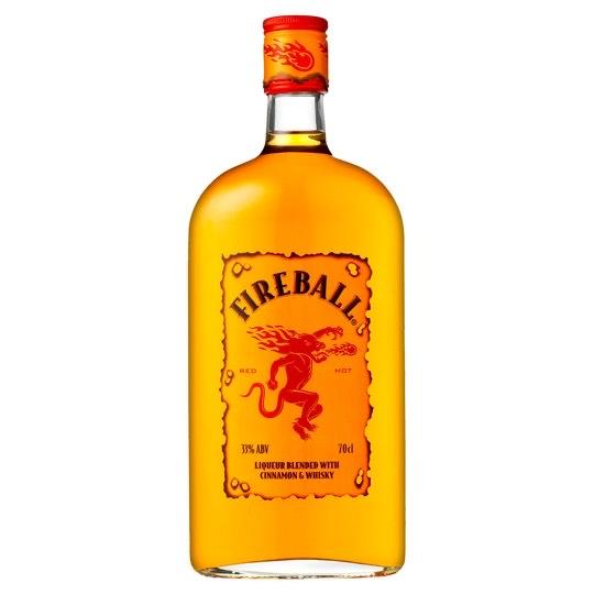 fireball cinnamon whisky liqueur 70cl only £15 at Amazon (+£4.49 non-prime)