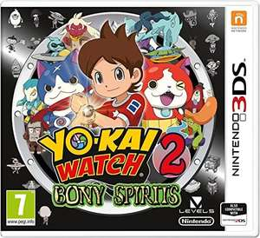Yo Kai Watch 2: Bony Spirits Nintendo 3DS Game - £2.99 (free click & collect or £3.95 delivery) @ Argos